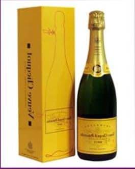 Шампанское «Вдова Клико»
