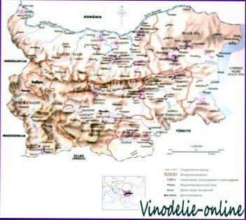 Виноделие в Болгарии