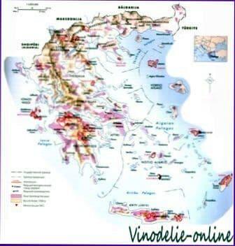 Виноделие в Греции