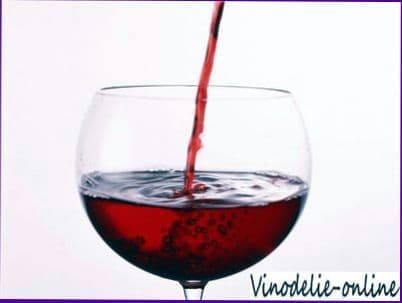Черничное вино