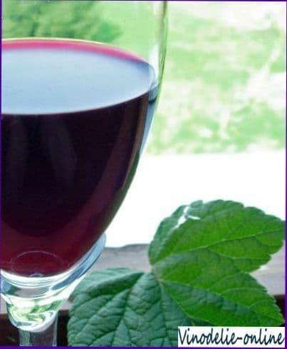Малиново смородиновое вино