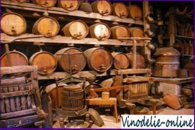 Технология приготовления вина