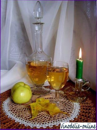 Технология приготовления вина из яблок