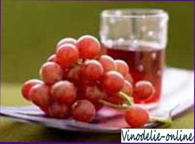 Сироп из винограда