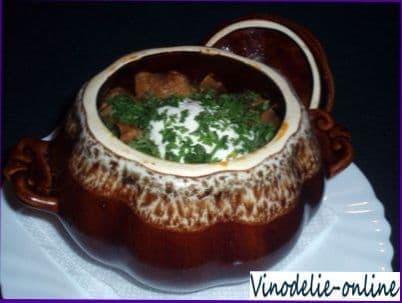 Соус для жаркого из телятины