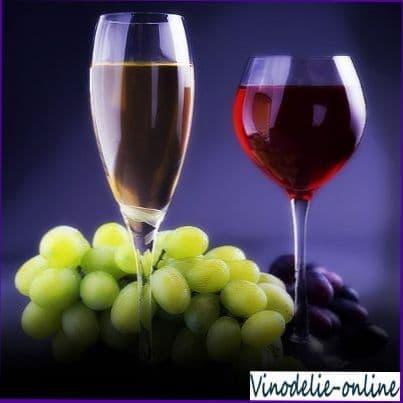 Диетические особенности виноградного сока и вина