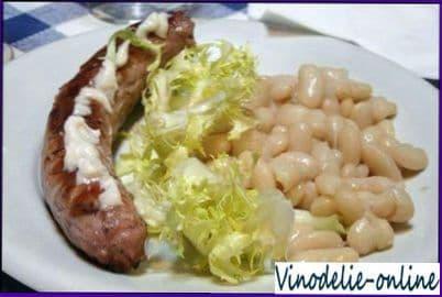 Колбаски свиные по каталонски