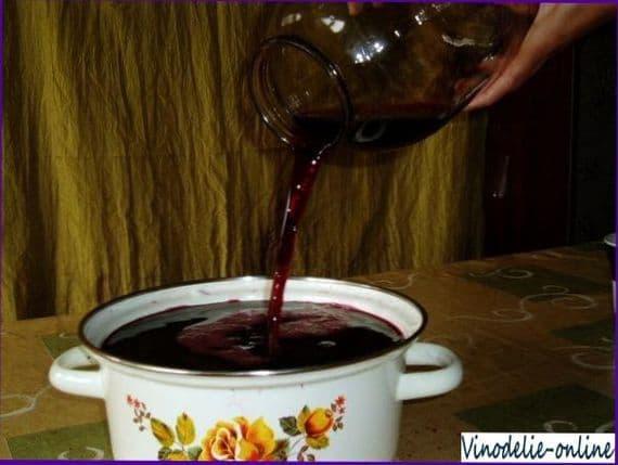 Вино из черной сливы в домашних условиях рецепт
